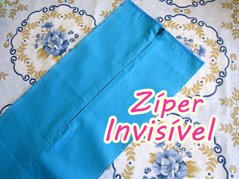 Como Colocar Zíper Invisível