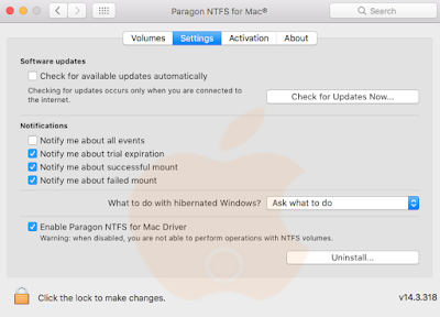 Uninstall Aplikasi Mac di System Preferences