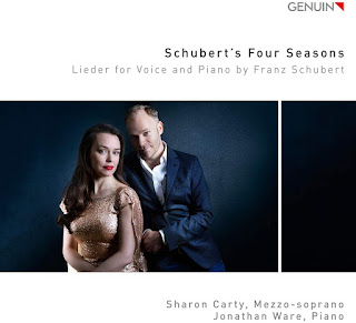 Schubert's Four Seasons - Viola, Klage der Ceres and other songs; Sharon Carty, Jonathan Ware; GENUIN