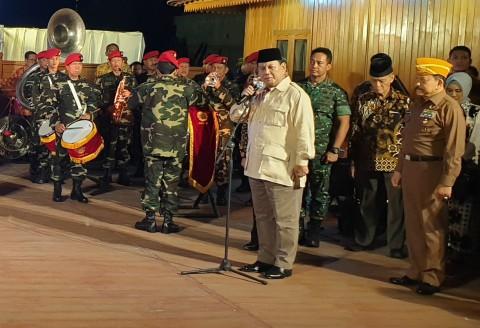 Prabowo Ingin Bangun Pertahanan RI agar Tak Diganggu Bangsa Lain