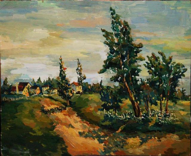 obraz Mariia Drozdova malarstwo