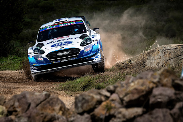 Teemu Suninen Ford Fiesta WRC car