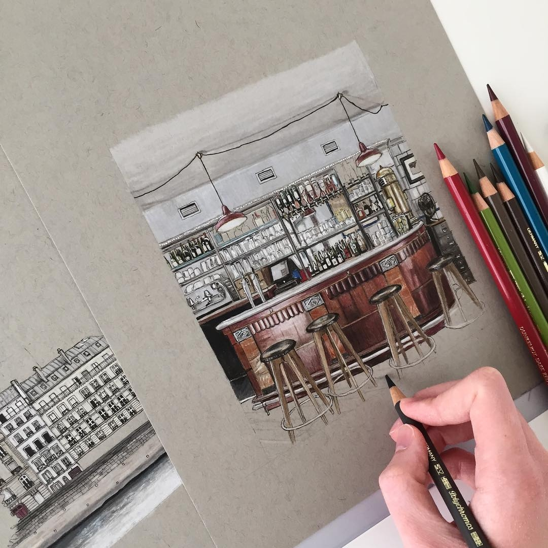 08-Cosy-Bar-Phoebe-Atkey-Eclectic-Mixture-of-New-and-Old-Details-and-WIPs-Sketches-www-designstack-co