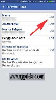 Cara Mengganti Nama Akun Facebook Lite Di Hp Android Terbaru
