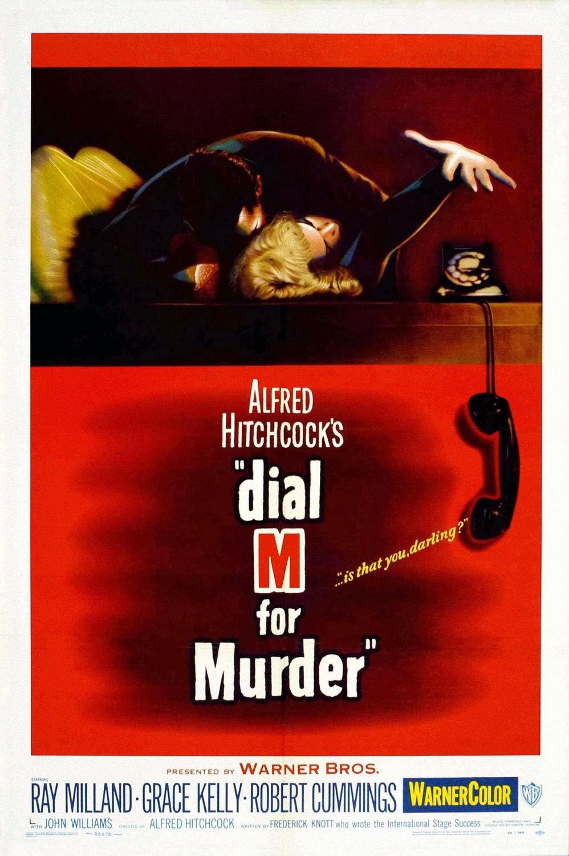 Η αφίσα για το Dial M For Murder