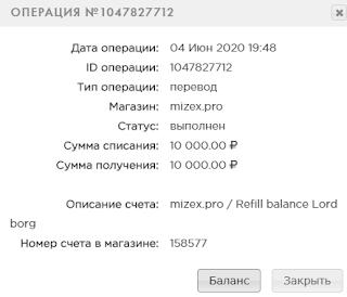 mizex mmgp