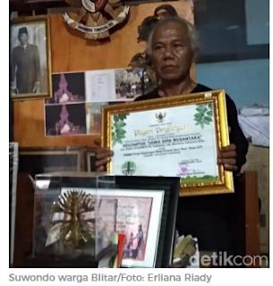 Kisah Suwondo, Pensiun Dini Demi Hijaukan Pesisir Blitar Selatan
