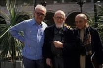 Avec l'Abbé Pierre et  Dom Helder Camara