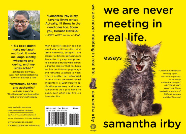 Samantha Irby Book We Are Not Meeting In Real Life