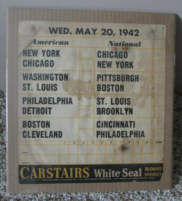 MLB schedule, 20 May 1942 worldwartwo.filminspector.com