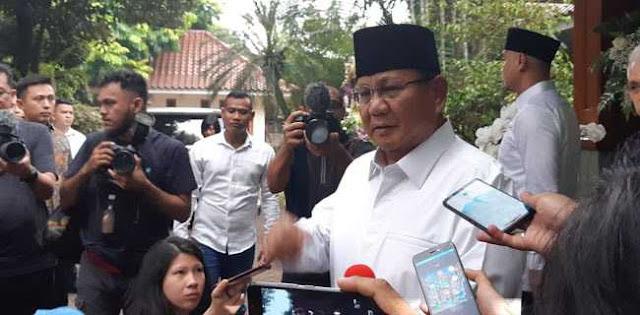 Prabowo Minta Maaf Dan Ungkap Alasannya Baru Sambangi Rumah SBY