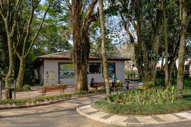 Museu de História Natural Capão da Imbuia - MHNCI - vista lateral