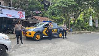 Tingkatkan Kedisiplinan Prokes, Sat Sabhara Polres Enrekang Laksanakan Patroli Yustisi