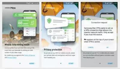 Samsung Max VPN Settings For MTN NG mPulse Data