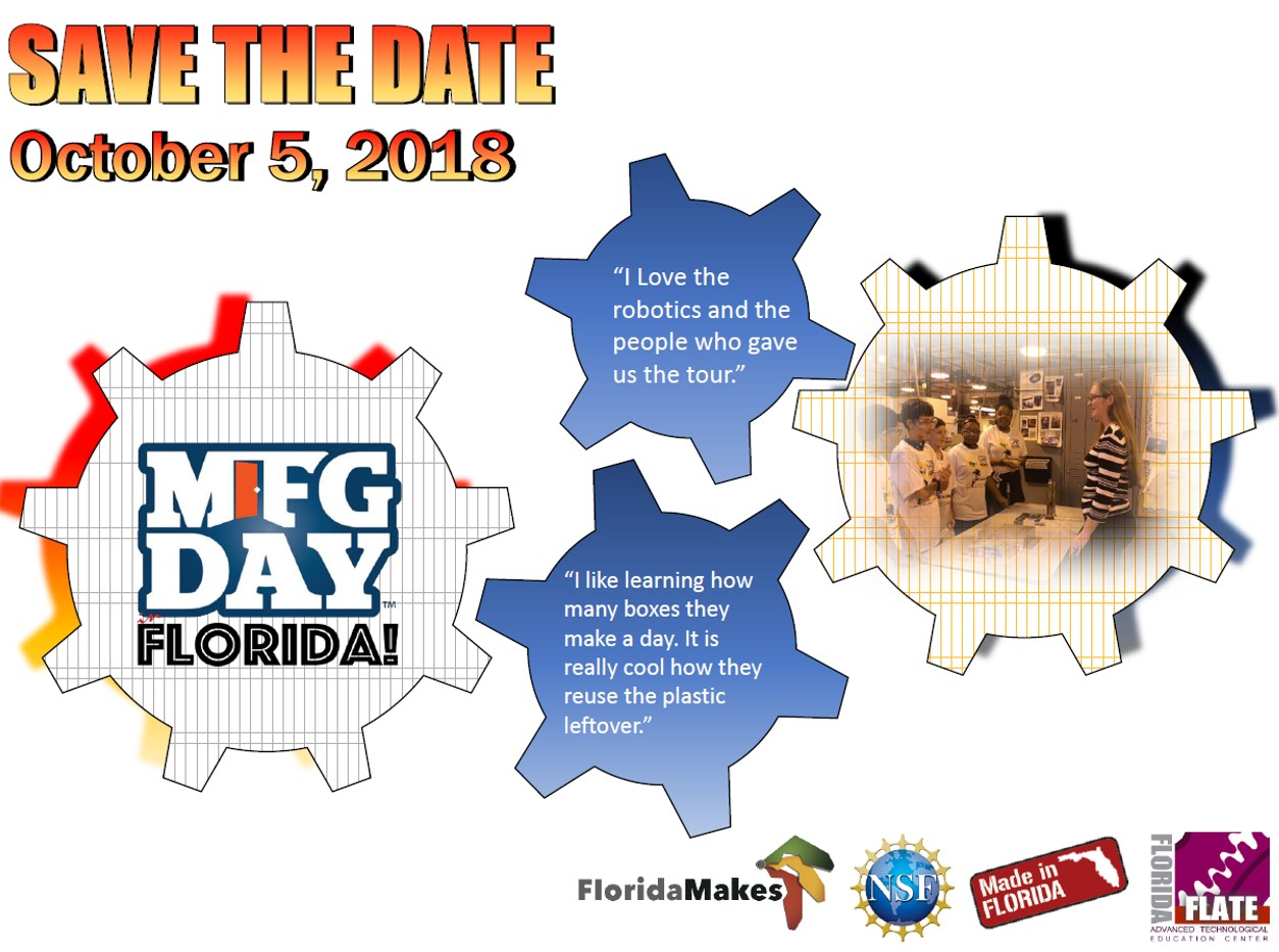 MFG DAY 2018 SAVE THE DATE
