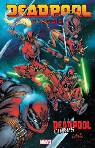 El regreso de Rob Liefeld a Deadpool Corps