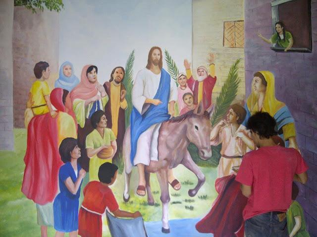 contoh lukisan mural tadika