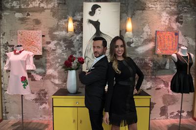 Edição é apresentada pela modelo Olivia Peralta e por especialista em estilo Óscar Madrazo - Divulgação