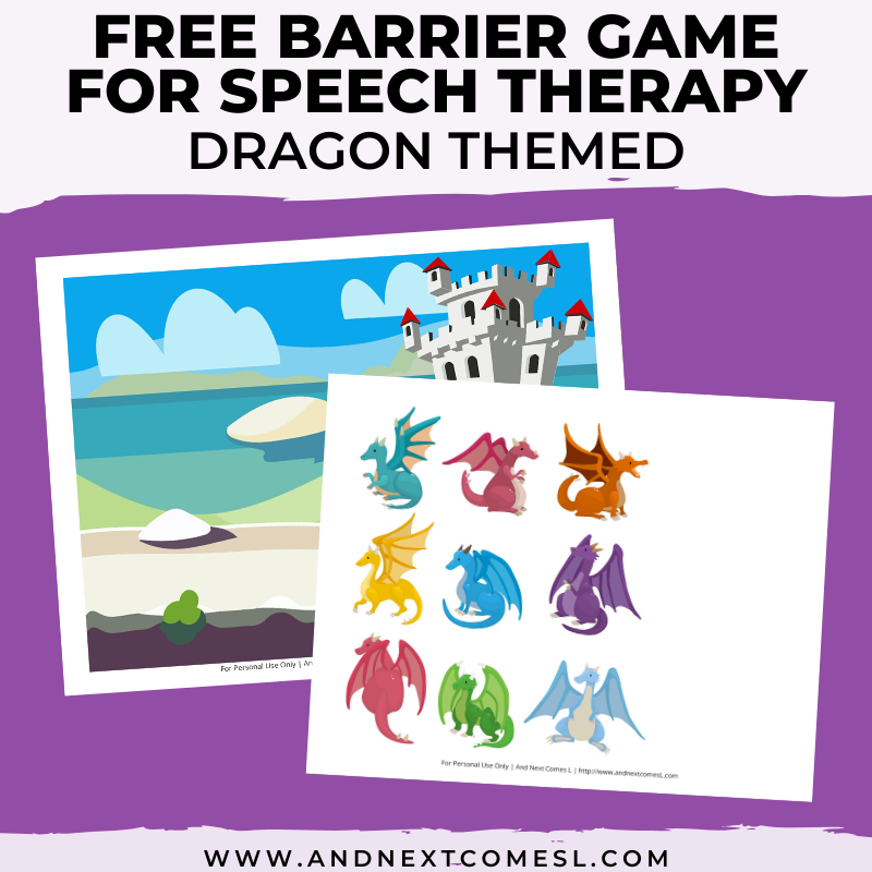 It is a picture of Free Printable Speech Therapy Materials for kindergarten