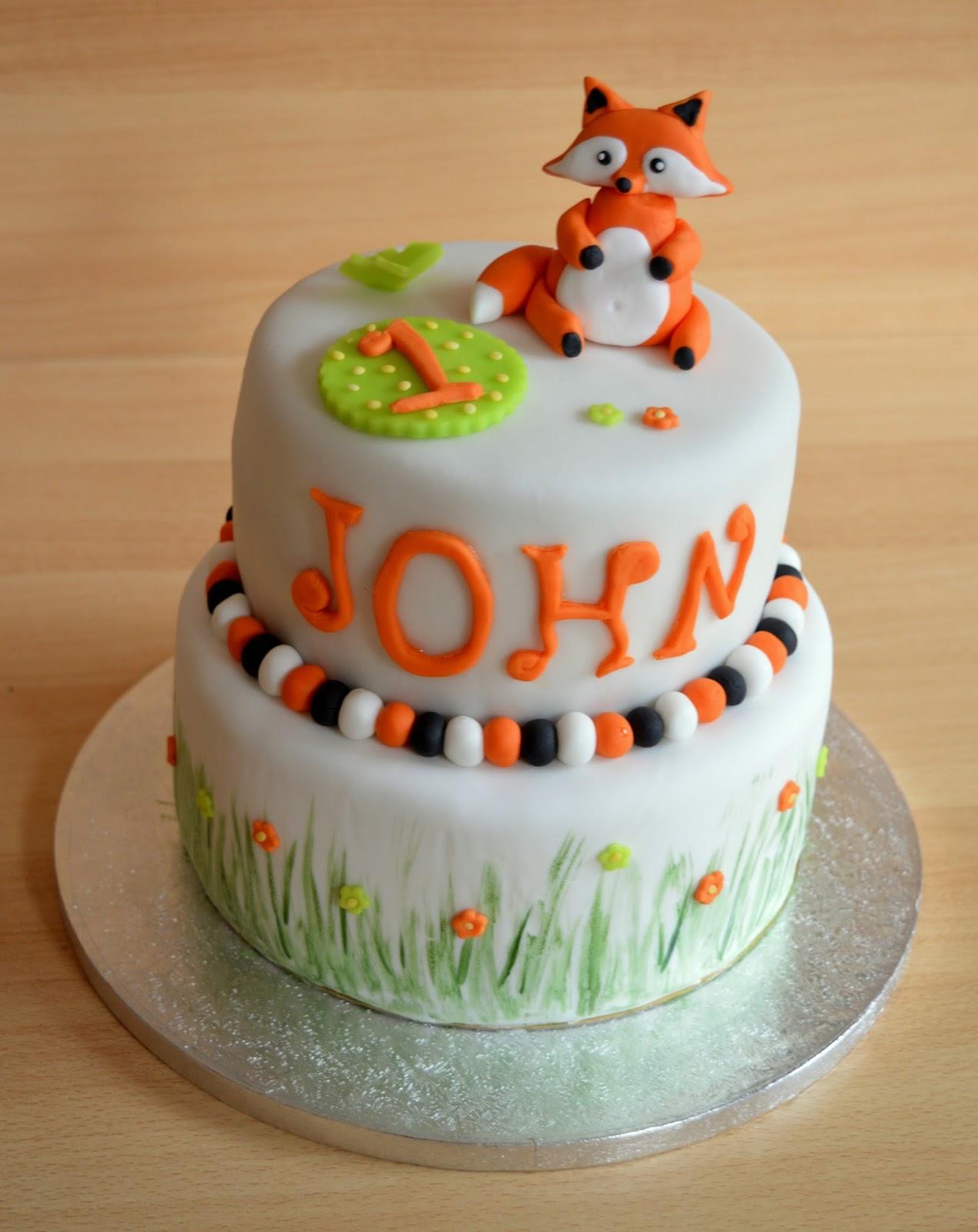 Julias Zuckersusse Kuchenwelt Motivtorte Zum 1 Geburtstag