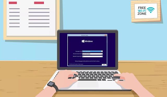 Panduan Cara Instal Ulang Laptop HP