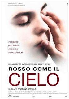 Rojo como el cielo (2006) Drama con Paolo Sassanelli