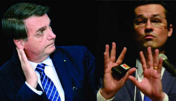 Bolsonaro acusa que Dallagnol e procuradores em mensagens, queriam perseguir a sua família