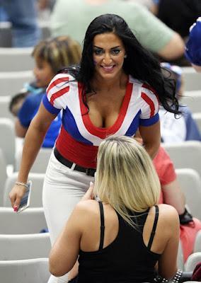Supporter cewek cantik EURO '16