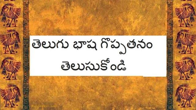 తెలుగు భాషను నేర్చుకోండి - Learn Telugu Language