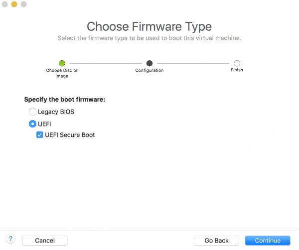 Cách cài Win bằng VMware Fusion