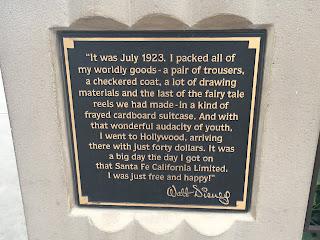 Storytellers Statue Walt Disney Dedication Plaque