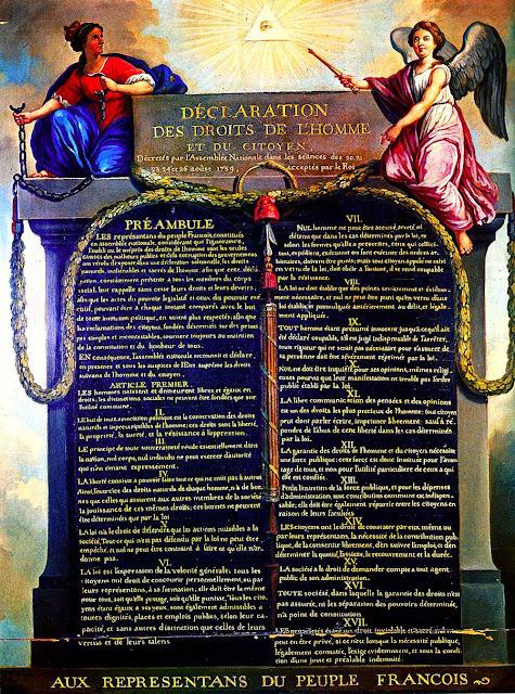 Foto La Declaration des droit de L'homme et du citoyen