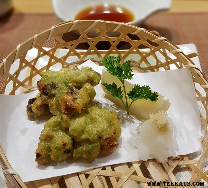 Miyabi Sheraton PJ Avocado Sakura Baby Shrimp Tempura