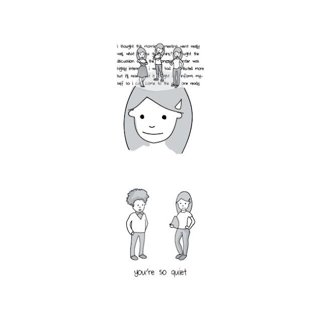gambaran orang introvert