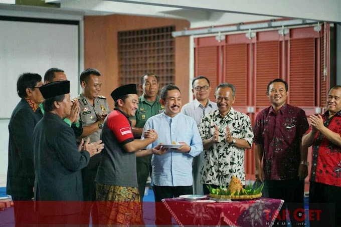 Hadiri HUT KKUB, Bupati Haryanto Ajak Waspadai Isu - Isu Yang Dapat Memecah Belah Persatuan