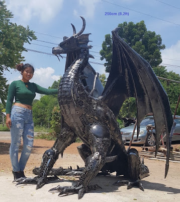 http://www.scrap-metal-art-thailand.com/m/metal-animal-art-statues-sculptures-life-size-bull-dragon-horse-dinosaur-rhino-eagle.html