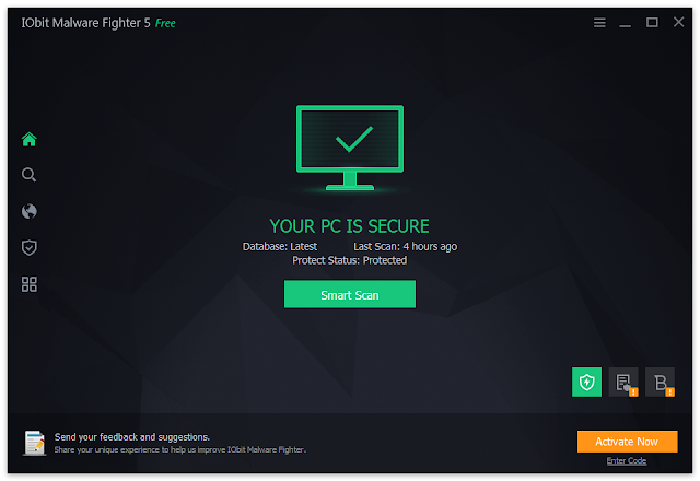 Download Software IObit Malware Fighter  Pro 2017 Terbaru  - Kumplit Software