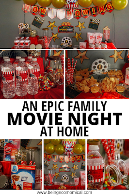 at home family movie night ideas