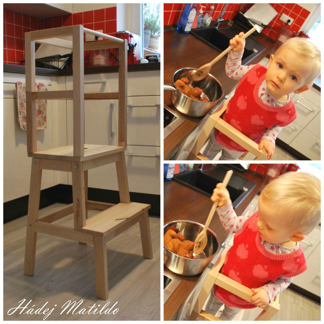 učící věž, montessori deska