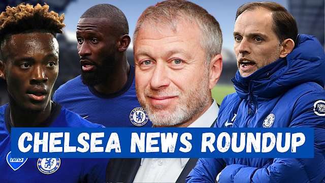CHELSEA NEWS ROUNDUP | CONTRACTS | TRANSFERS | ABRAMOVICH | CL DRAW | FA CUP.