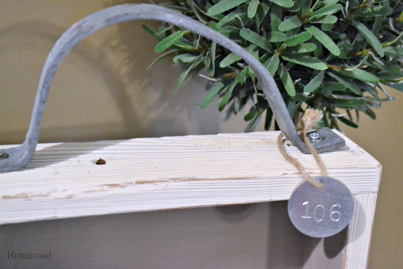 Rustic Shelf with a Handle
