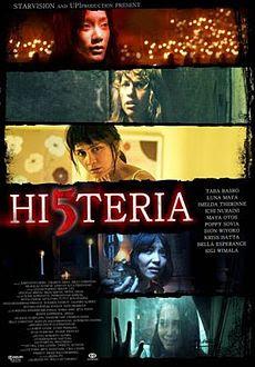 Poster Film Hi5teria