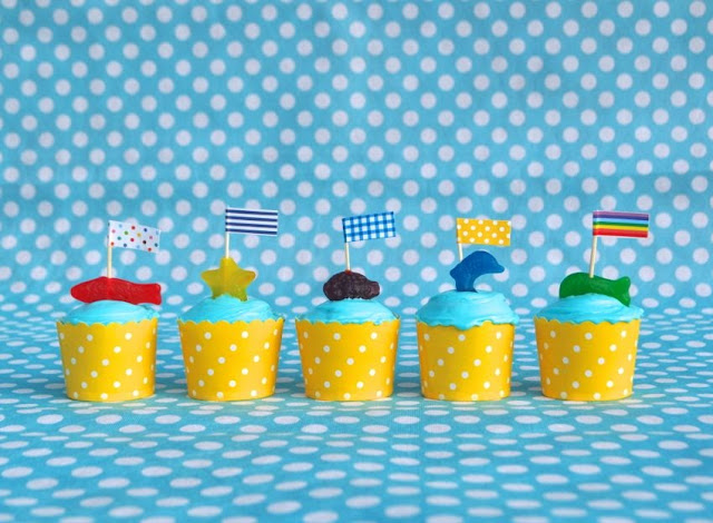 Easy Ocean Animal Cupcakes My Birthday Giveaway Make Life Lovely