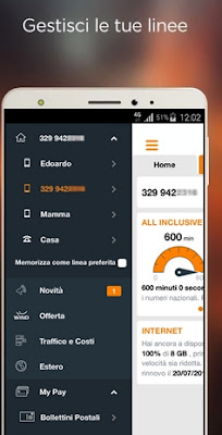 MYWIND - APP UFFICIALE WIND PER SMARTPHONE ANDROID