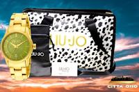 Vinci gratis un orologio LIU JO completo di bag e garanzia