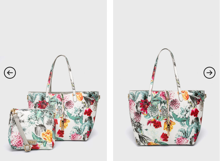 Nobo - Poseta cu imprimeuri florale de umar frumoasa de vara