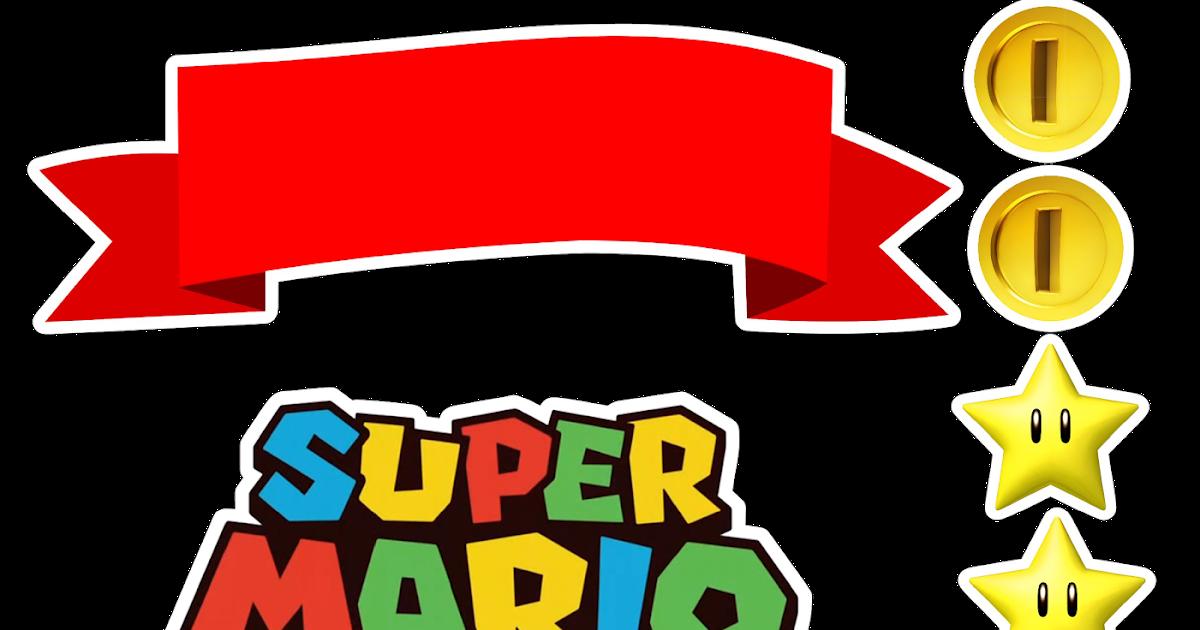 Passatempo Da Ana Topo De Bolo Super Mario