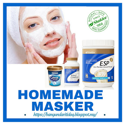 Homemade masker Vitamin Shaklee Pengedar Shaklee Kuantan