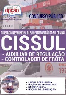 apostila CISSUL AUXILIAR DE REGULAÇÃO E CONTROLADOR DE FROTA