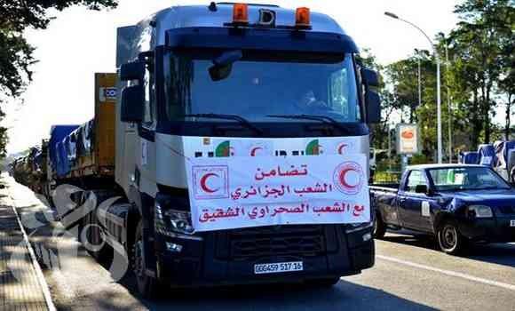 L'Algérie envoie une aide alimentaire et médicale aux camps des réfugiés sahraouis